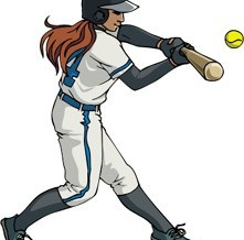 fastpitch-softball-clipart-02