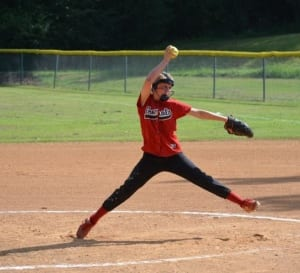 When My Daughter Pitches