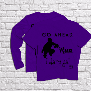 Catcher_go-ahead-run_black-on-purple_store-display-graphic_SLIDER-300x300