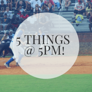 5 Things at 5pm | 5 Softball Parenting Truths | Softball is For Girls