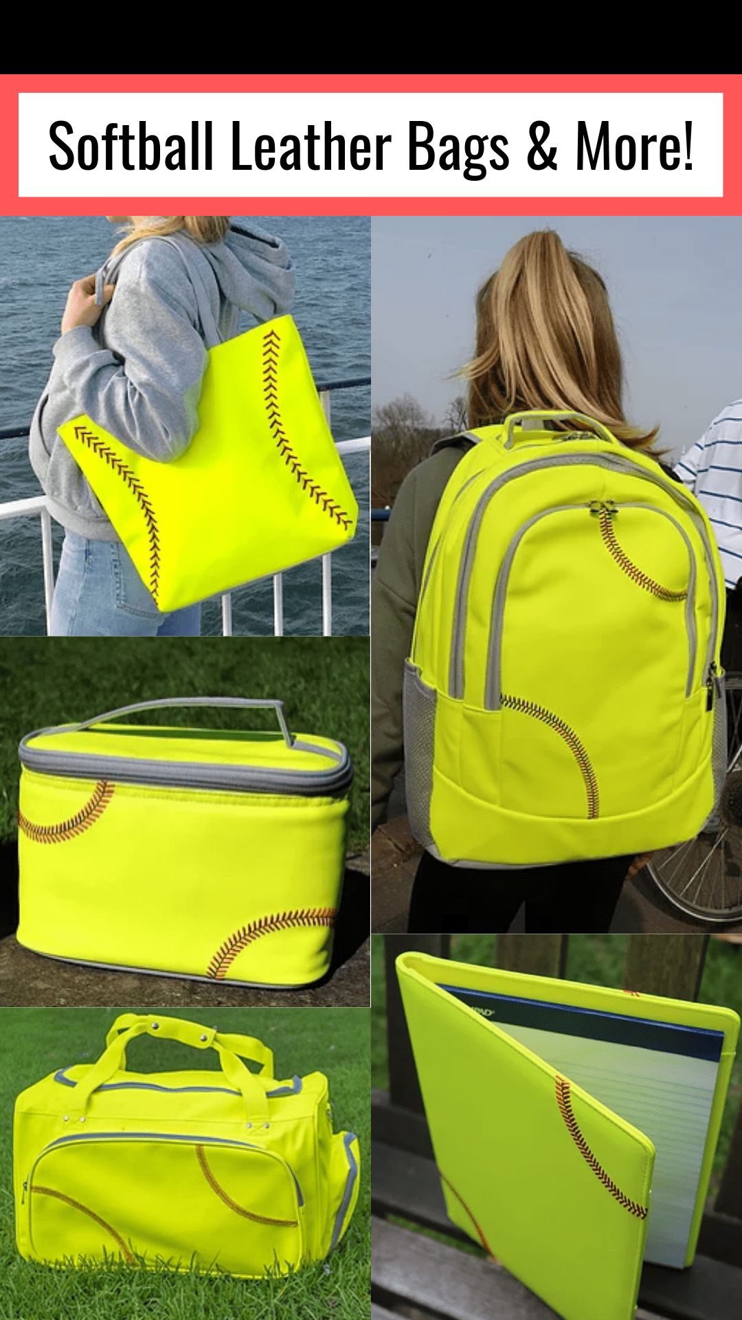 Softball Leather Bags & More