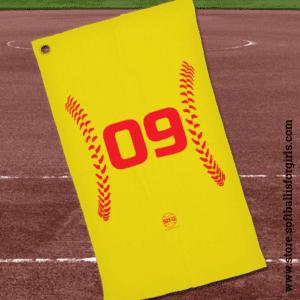 softball dugout towels